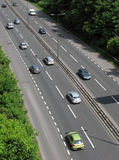 UK road traffic Royalty Free Stock Images