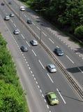 UK road traffic Royalty Free Stock Images
