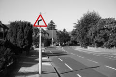 UK, Road Traffic Sign. Royalty Free Stock Photography