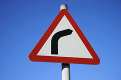 UK, Road Traffic Sign. Royalty Free Stock Photos