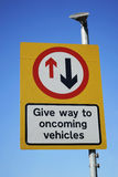 UK, Road Traffic Sign. Royalty Free Stock Images