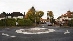 UK Roundabout Royalty Free Stock Image