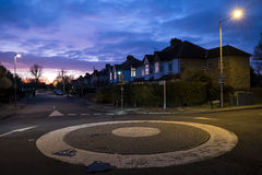 UK Roundabout Stock Photography