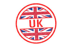 UK Rubber Stamp Royalty Free Stock Image