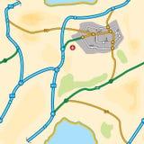 Uk Seamless Map Stock Photography