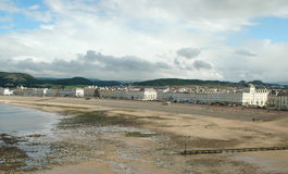UK seaside town. Victorian seaside town in the UK royalty free stock photo