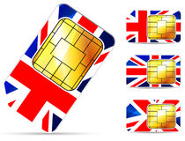 Uk sim card Stock Images