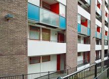 uk społecznego budownictwa mieszkaniowego Zdjęcie Stock