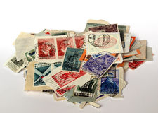 UK Stamps Stock Image