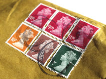 UK Stamps Royalty Free Stock Images