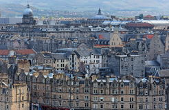 uk stary Edinburgh miasteczko Scotland Obraz Stock