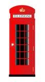 UK Telephone Box Stock Photos