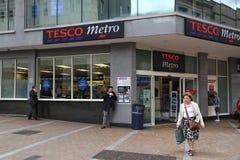UK Tesco Stock Image