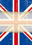 UK torn flag Royalty Free Stock Images