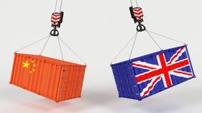 Uk Trade Import Tarrifs. 3D Render of UK Trade Import Tarrifs Stock Photography