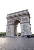 Łuk triumf, Paryski Francja Obraz Stock