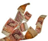 UK-valuta Royaltyfri Bild