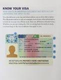 UK wiza wyjaśniająca Obraz Stock