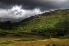 uk wzgórza gromadzki jezioro zdjęcie royalty free