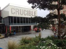 Uk Yorkshire Sheffield The Crucible Theatre Stock Photo