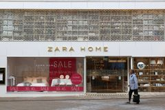 UK Zara Home Arkivfoto