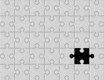 układanki gry Zdjęcie Stock