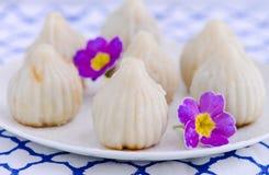 Ukadiche dolce-Maharashtrian indiano Modak Immagini Stock