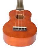 Ukulele isolated on white. A ukulele isolated on a white background Royalty Free Stock Photos