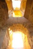 Łuki Amfiteatr w El Djem Obraz Royalty Free