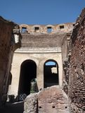 Łuki Colosseum, Rzym zdjęcia royalty free