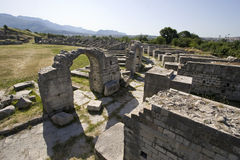 Łuki i ruiny Obrazy Royalty Free