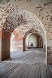 Łuki w U S Cywilnej wojny ery fort Obrazy Royalty Free