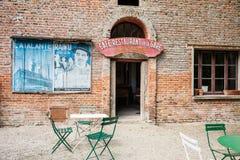 Ukierunkowywa Ekspresowej Stacyjnej kawiarni Obrazy Royalty Free
