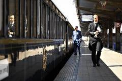 Ukierunkowywa Pociąg ekspresowy Zdjęcia Stock