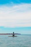 Ukierunkowywa punkt latarnię morską NY Zdjęcie Royalty Free
