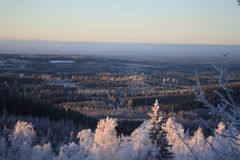 Ukko Koli, Финляндия, год 2008 Стоковое Изображение