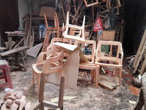 UKM furniture. UKM menjadi perhatian khusus dalam perekonomian Indonesia Stock Photography