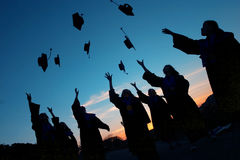 ukończenie szkoły obrazy royalty free