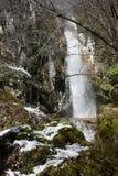 Ukovica de ½ de la cascade Å Photos libres de droits