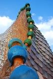 Łukowaty dach Fotografia Royalty Free