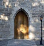 łukowaty drzwi Zdjęcia Royalty Free