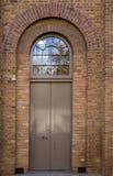 łukowaty drzwi Obrazy Royalty Free