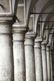 Łukowaty korytarz Obrazy Royalty Free