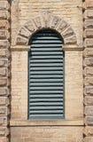 Łukowaty louvre okno Zdjęcia Royalty Free