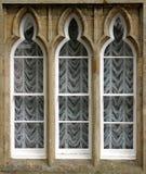 łukowaty okno obraz stock