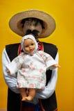 Ukraińscy etniczni ręcznie robiony artykuły Obrazy Stock