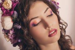 Ukraińska piękna dziewczyna fotografia royalty free