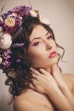 Ukraińska piękna dziewczyna obraz royalty free