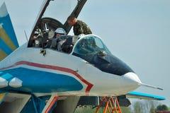 Ukraińska siły powietrzne MiG-29 Obraz Royalty Free