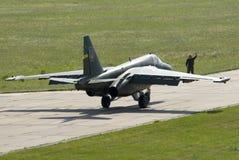 Ukraińska siły powietrzne Su-25 Obrazy Stock